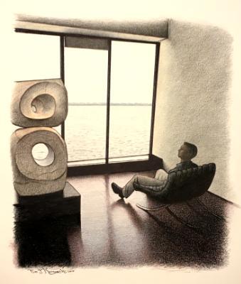 Artist in Contemplation