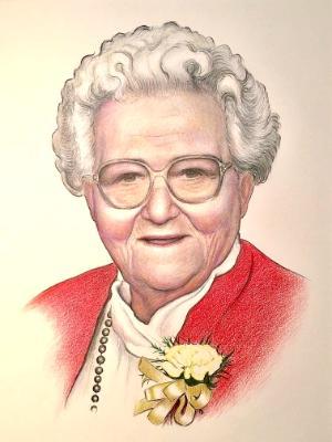 Portrait of Bonnie