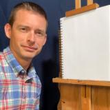 60 minute Zoom art lesson with Timothy: Oil Painting, Oil Pastel, Colored pencil, Pen & Ink, or Pencil
